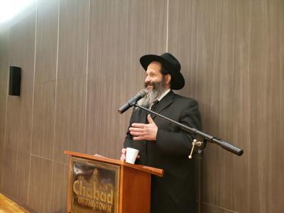 Sholom Rubashkin speaks in Montreal