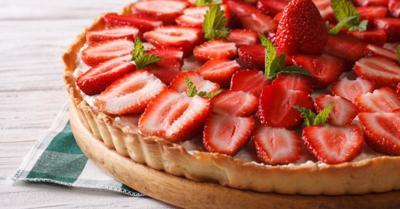 Healthy Living With TAU: Sugar-free strawberry pie