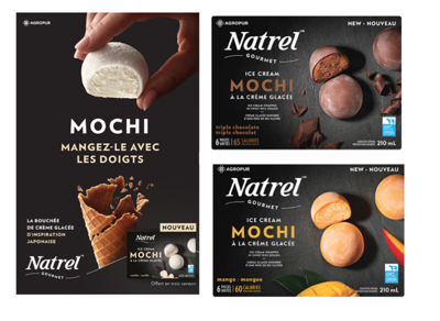 Food & Drink: Natrel launches brand new ice cream mochi