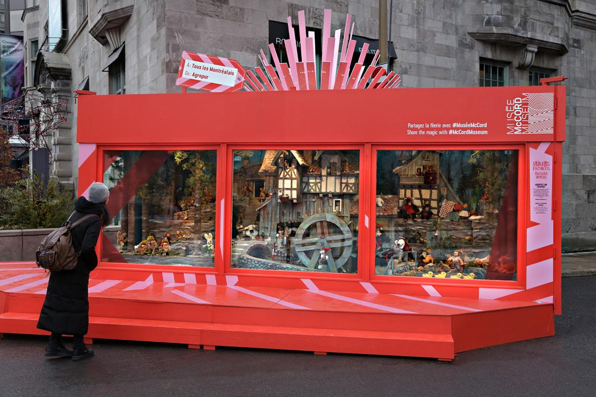 McCord Museum Holiday Programming: Relive the magic of Ogilvy's mechanical Christmas window displays
