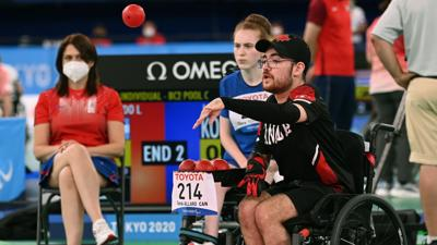 Laval's Danik Allard bows in Paralympic debut on a positive note