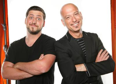 Alex and Howie Mandel