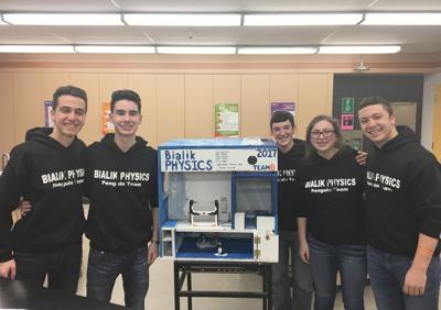 High school teams headed to Israel for Weizmann physics tournament