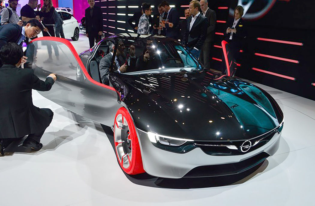 Concept cars of the 2016 Geneva Motor Show: Opel GT Concept