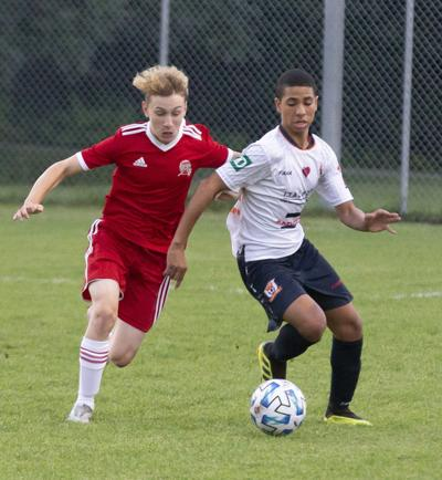 St. Laurent U14 boys playing to perfection midway through the season