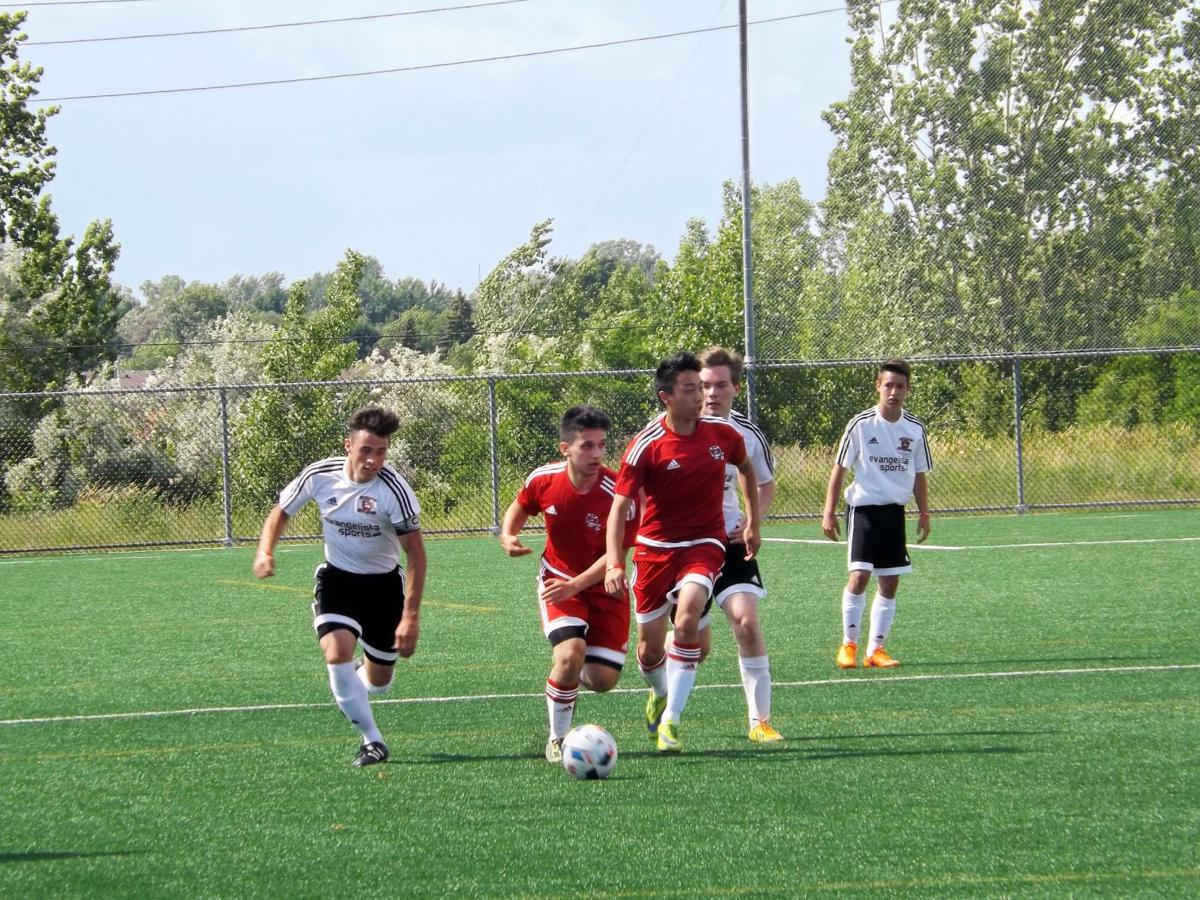 Pointe Claire golden at Laval International Cup