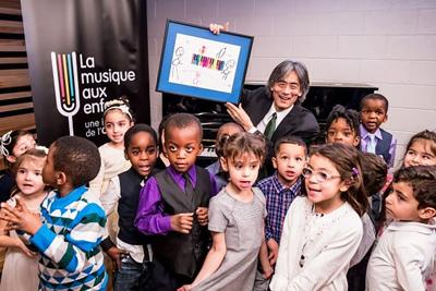 A major gift from the Marcelle and Jean Coutu Foundation for the MSO's La Musique aux Enfants