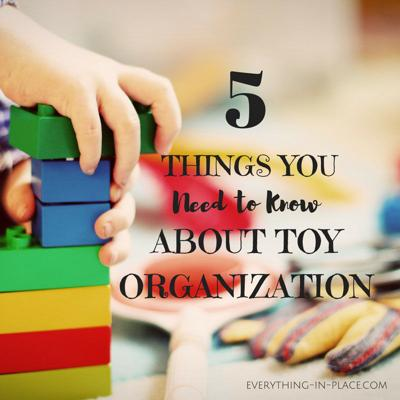 Houses & Homes: 5 Things you need to know about toy organization