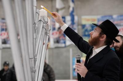 Chanukah on Ice in DDO a big success