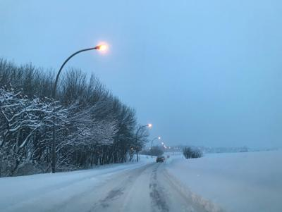 Snowfall warning for southern Quebec