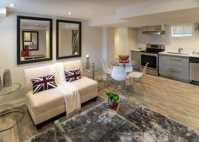 What to consider when designing a basement apartment