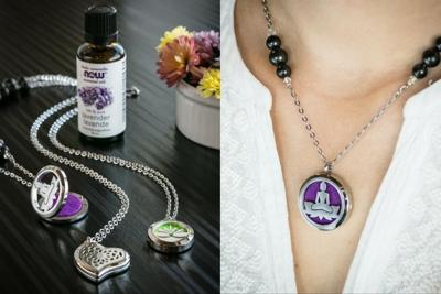 Healthy Living With TAU: Hazelwood jewelry & essential oil diffuser necklaces