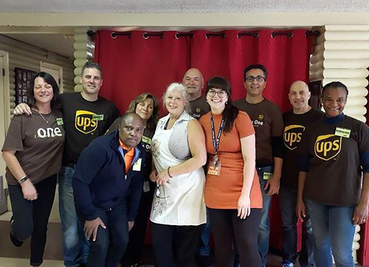 UPS and Cummins volunteers make a difference at The Teapot