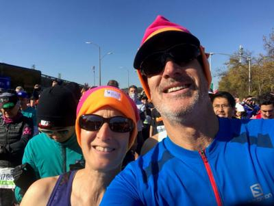 Inspiring others at a marathon pace