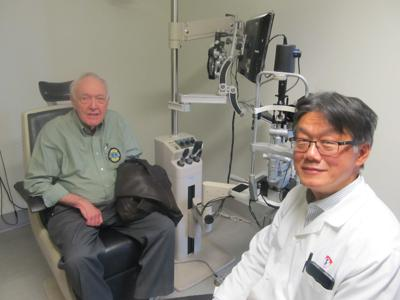 Local Lion's Club helps promote free eye care clinic