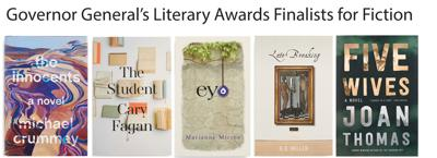 The Canada Council for the Arts Reveals the Governor General's Literary Awards Finalists