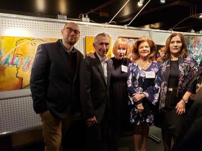 Shield of Athena's 25th annual art auction raises $90,000