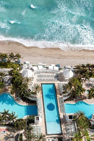 The Diplomat Beach Resort In Hollywood Pampers Its Guests
