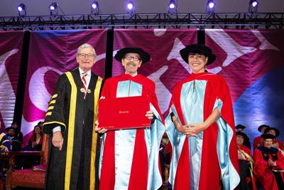 Chair of MMFA Michel de la Chenelière receives an honorary doctorate from McGill University