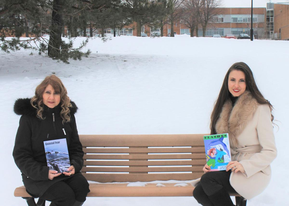 Mother and daughter release self-published books almost simultaneously