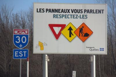 Suburban exclusive: Quebec commits to more, better pictograms on highways