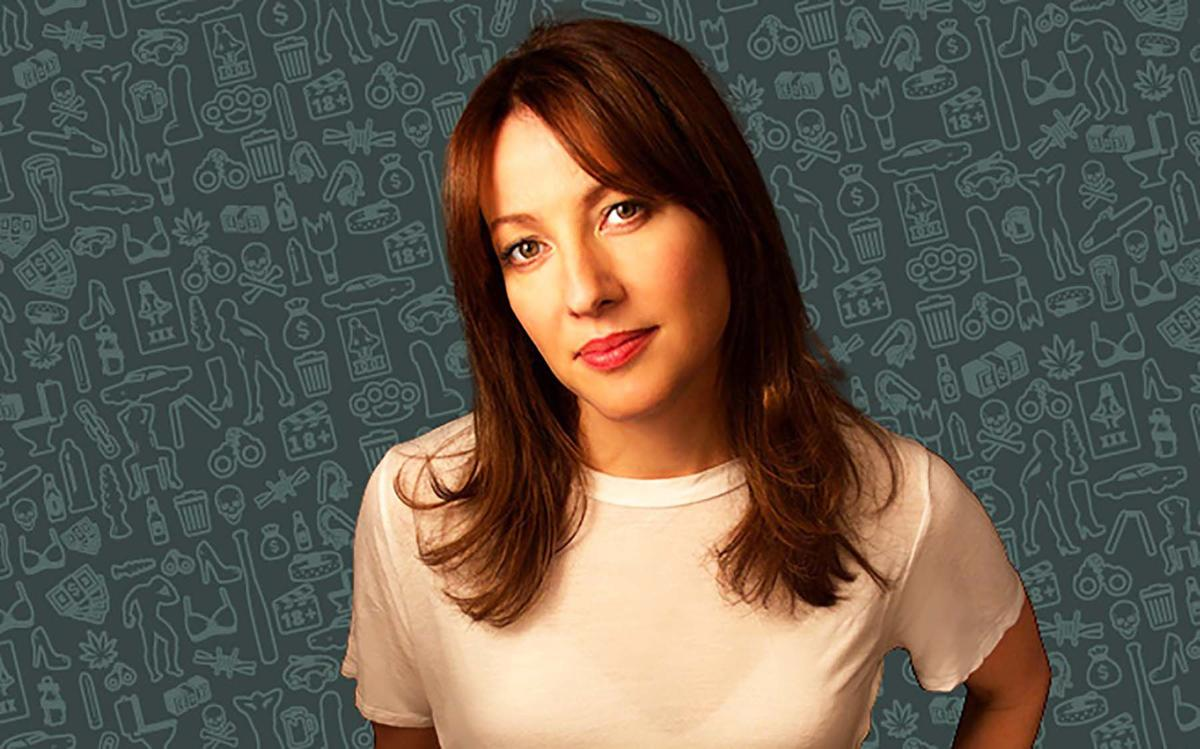 Nasty Show first-timer Bonnie McFarlane isn't mincing words
