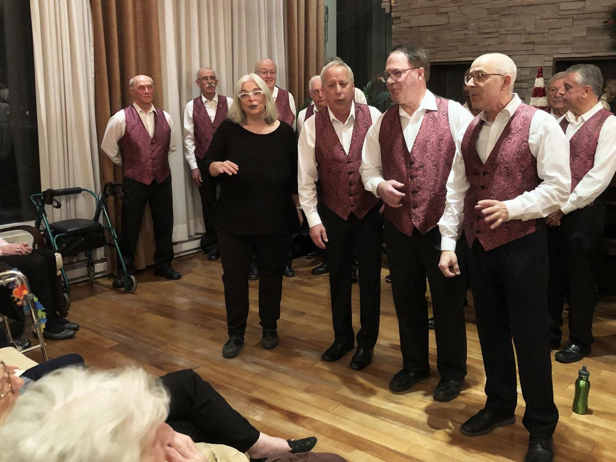 A groundbreaking foursome of barbershop singers