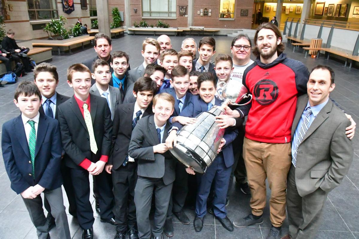 Scott Macdonell revisits his football roots with Grey Cup