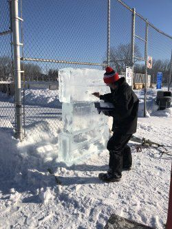 Eight DDO Parks display ice sculptures
