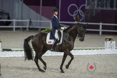 Chris Von Martels makes successful Olympic debut