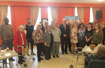 Marc Garneau visited the NDG Senior Citizens' Council