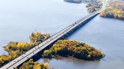 Île-aux-Tourtes Bridge repair work here till next spring