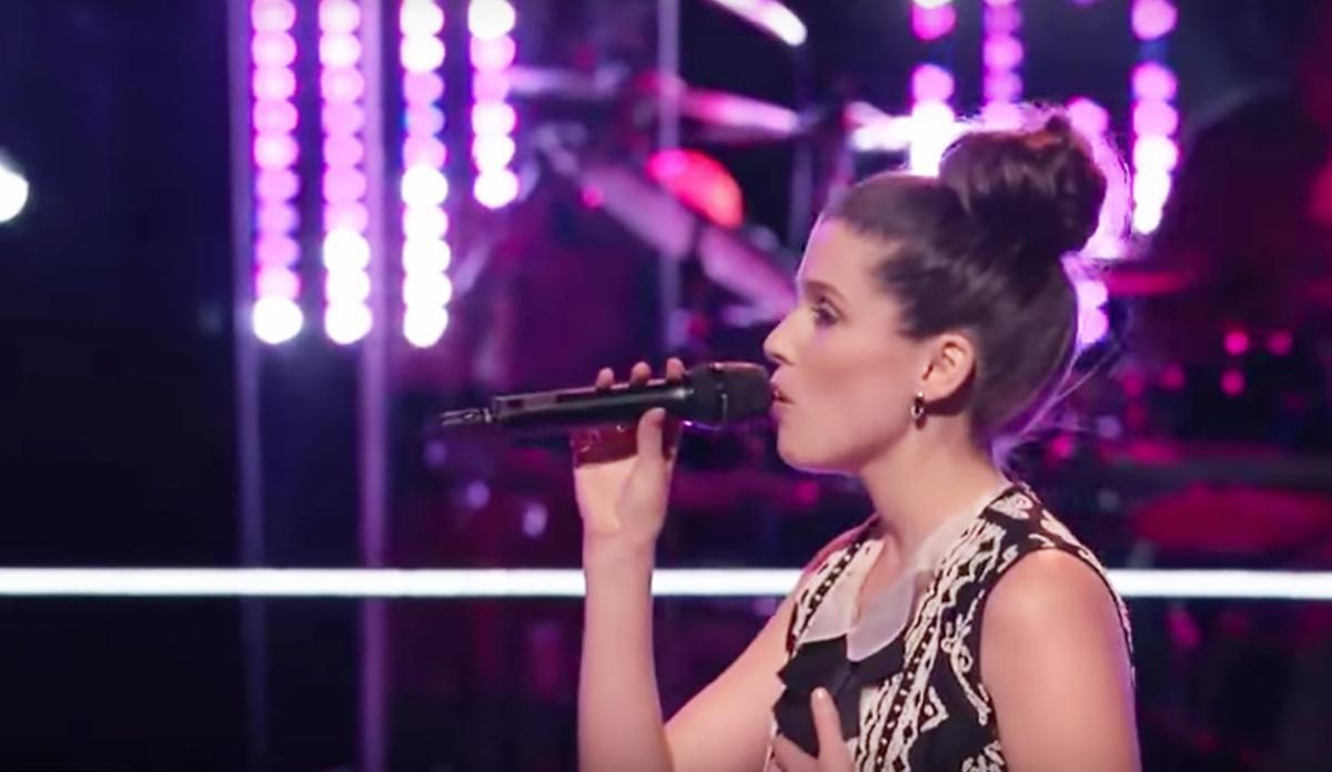 First Canadian to appear on The Voice, Brittany Kennell returns home