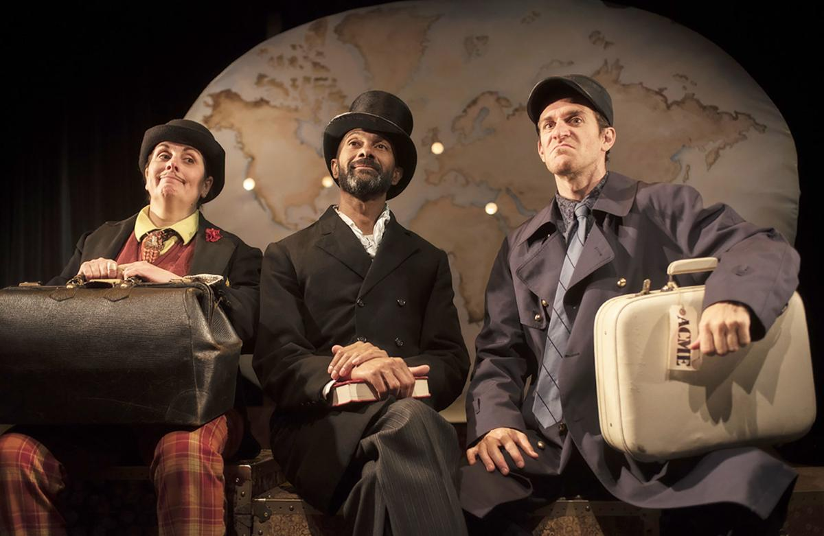 A globe-trotting theatrical adventure for all ages