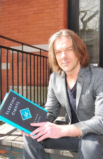 Sylvain Neuvel's debut novel Sleeping Giants results in three-book deal