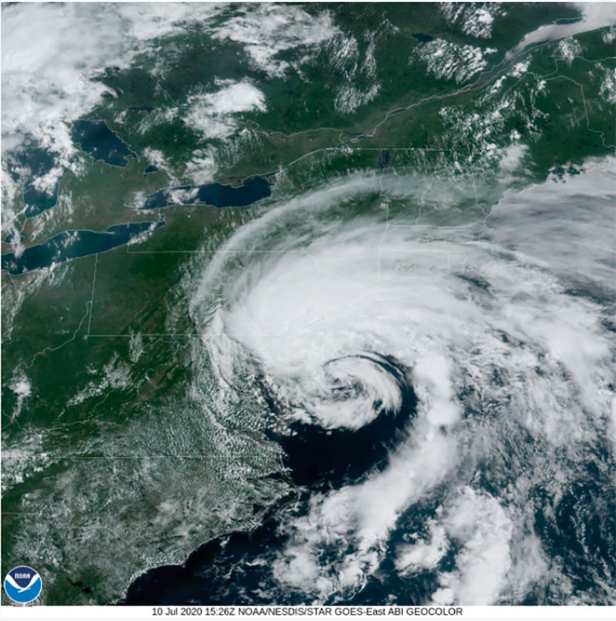 Tropical Storm Fay will bring relief from the heat