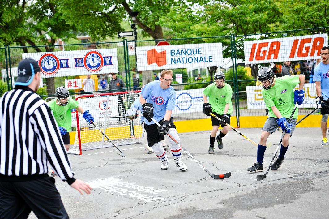 Hockey De Rue Together For The Kids Street Hockey Tournament Set