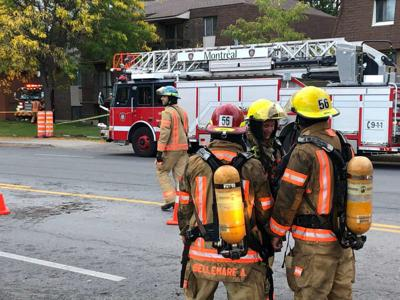 Eight families relocated in double alarm fire in Pierrefonds