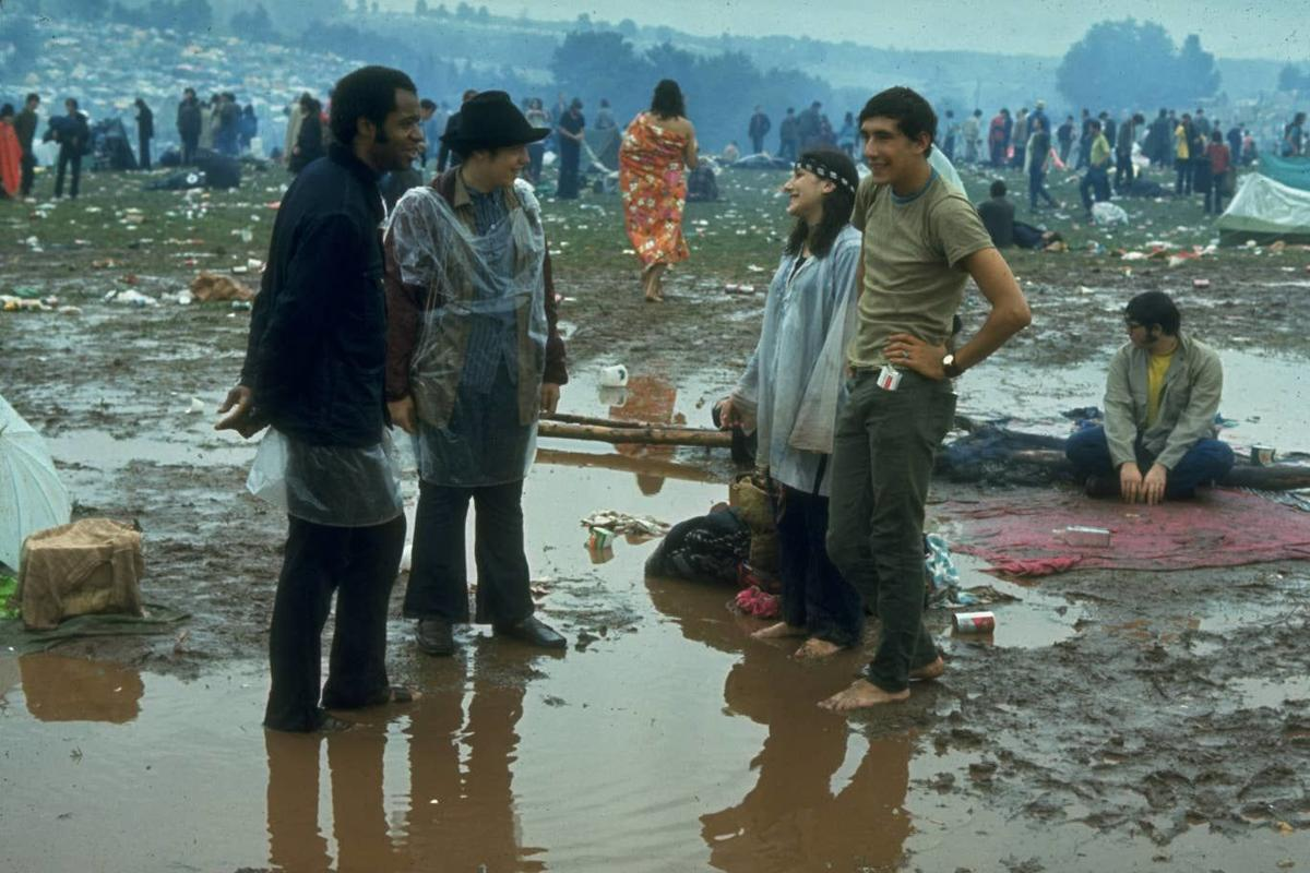 Music, peace, love and the weather - Woodstock 1969