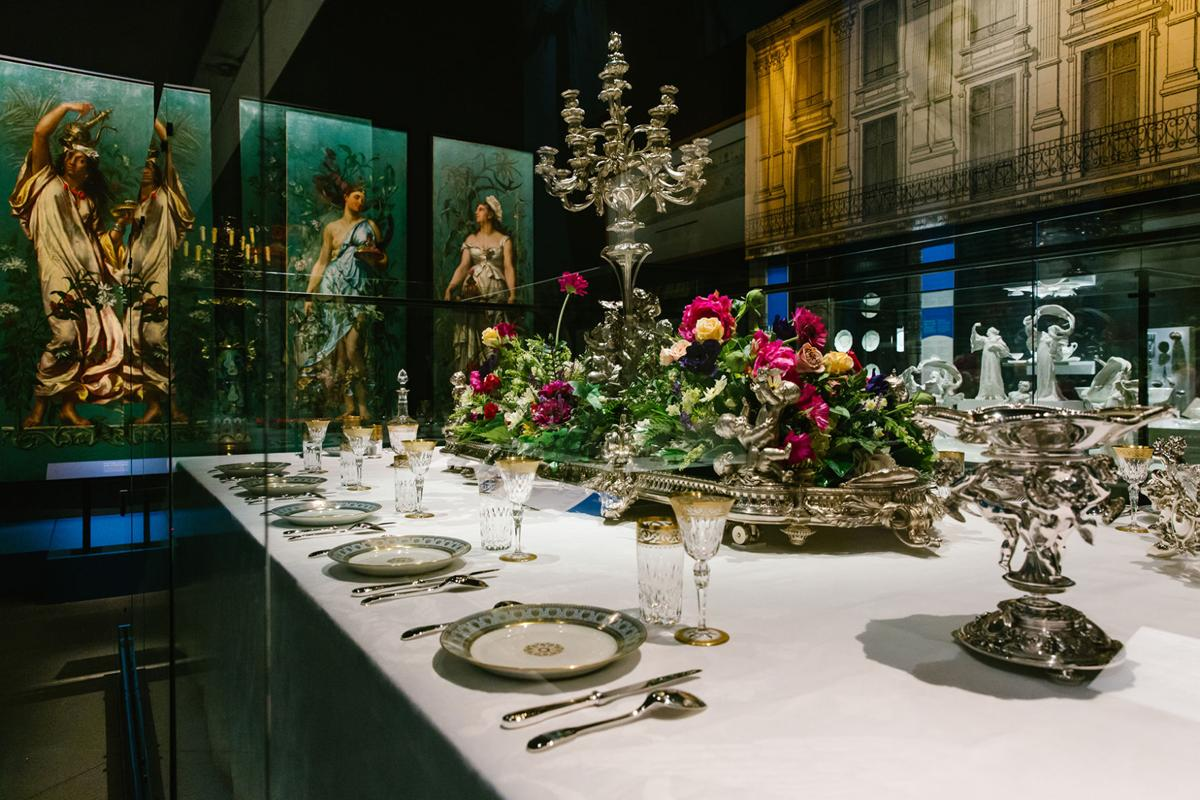 A remarkable exhibition: Pointe-à-Callière sets the table for the French gourmet meal