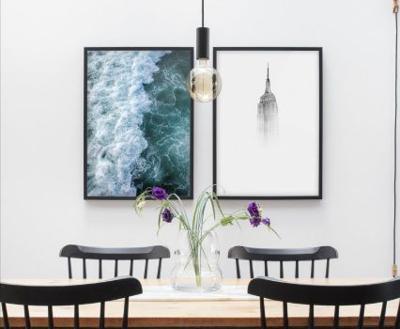 Houses & Homes: Beautiful wall decor ideas