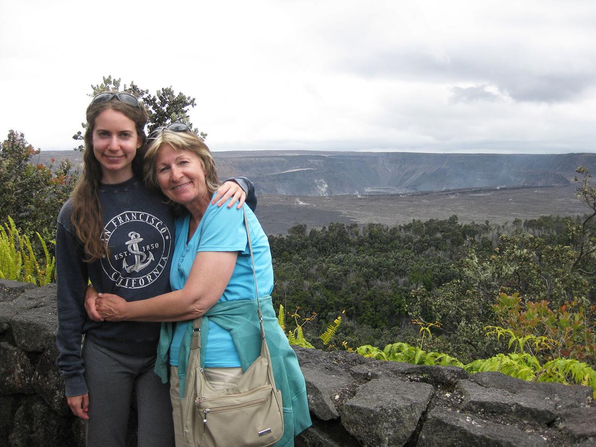 Judie Amyot: Tears at the crater's rim