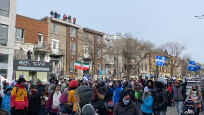 March 13 Demonstration in Montreal