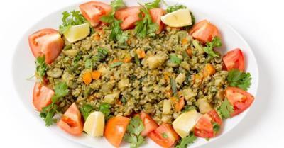 Healthy Living With TAU: Freekah summer fantasy salad