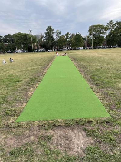 Vandalized Van Horne cricket pitch repaired, Rotrand announces