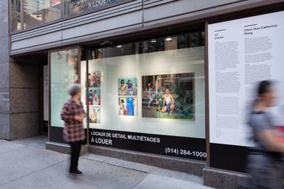 Vitrine sur l'art: Free exhibit downtown Montreal until Sept. 30