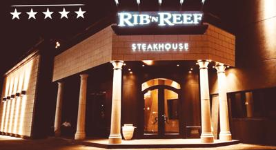 Landmark Rib'N Reef Steakhouse exudes class and fine dining