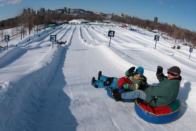A new playground for the Fête des Neiges de Montréal