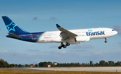 Transat says it's committed to providing a simple and safe travel experience when it gradually resumes operations July 23