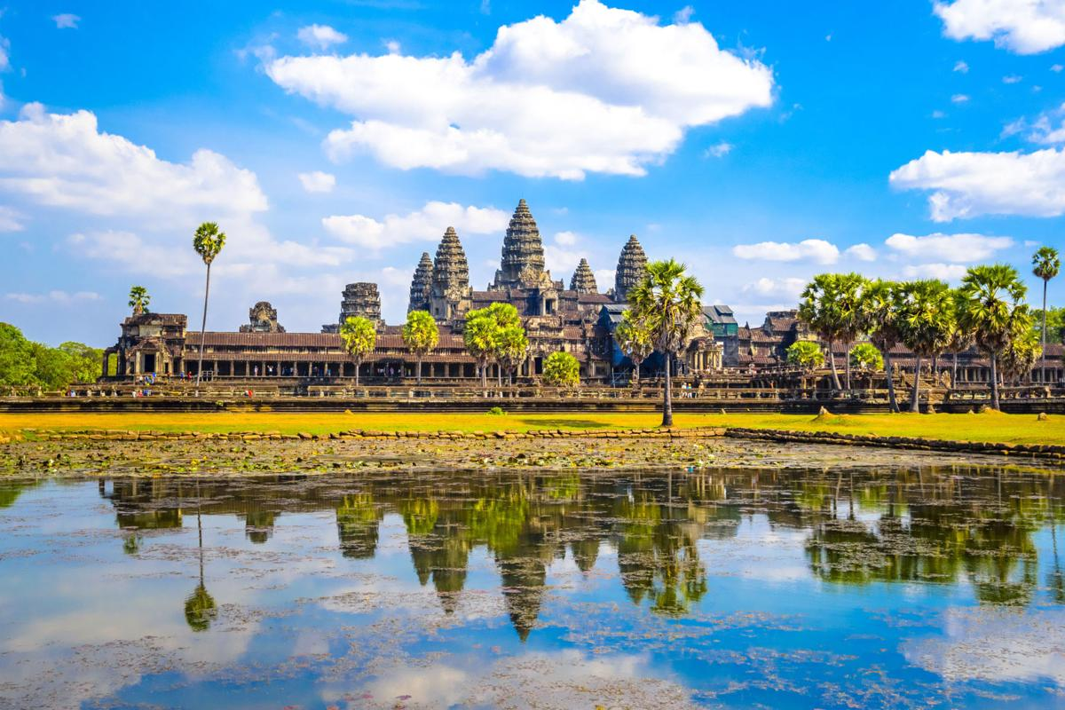 The temples at Angkor Wat: Cambodia's jewel